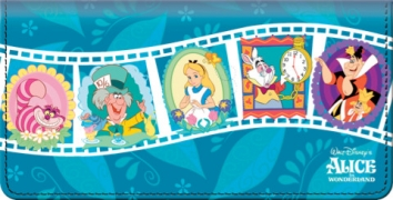 Click on Alice In Wonderland Checkbook Cover For More Details