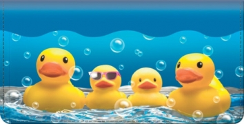 Click on Rubber Ducky Checkbook Cover For More Details