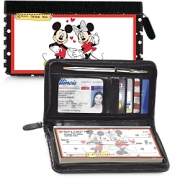 Click on Mickey Loves Minnie Zippered Wallet Checkbook Cover For More Details