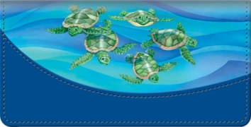 Click on Turtle Tides Checkbook Cover For More Details