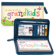 Click on Grandkids Rule! Zippered Wallet Checkbook Cover For More Details