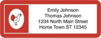 Click on Challis & Roos American Farmhouse Address Labels For More Details