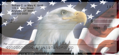 Click on Spirit of America  Personal Checks For More Details