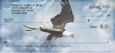 Click on Eagle's Flight  Personal Checks For More Details