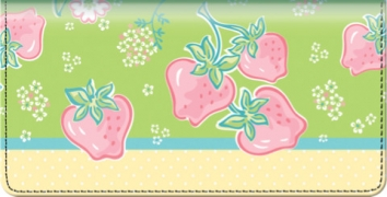 Click on Strawberry Fields Checkbook Cover For More Details