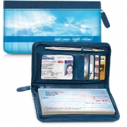 Click on New Day Zippered Wallet Checkbook Cover For More Details