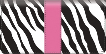 Click on Zebra Print Checkbook Cover For More Details