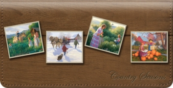 Click on Country Seasons Checkbook Cover For More Details