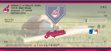 Click on Cleveland Indians(TM) Major League Baseball(R)  Personal Checks For More Details