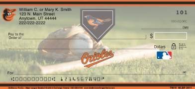 Click on Baltimore Orioles(TM) Major League Baseball(R)  Personal Checks For More Details