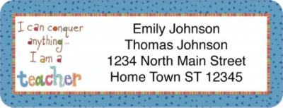 Click on Teachers Rule Address Labels For More Details