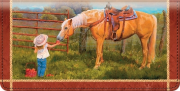 Click on Cowboy Kids Checkbook Cover For More Details