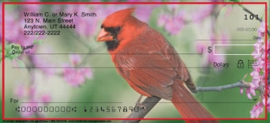 Click on Cardinals  Personal Checks For More Details