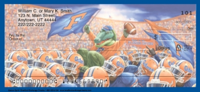 Click on Gator Spirit  Personal Checks For More Details