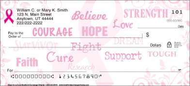 Click on Hope for a Cure  Personal Checks For More Details