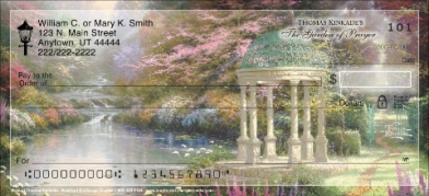 Click on Best of Thomas Kinkade  Personal Checks For More Details