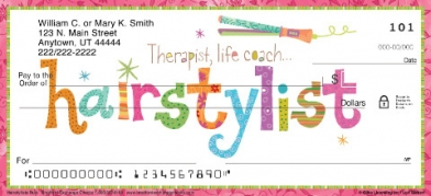 Click on Hairstylists Rule!  Personal Checks For More Details