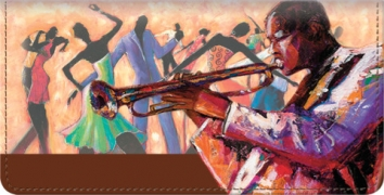 Click on Smooth Jazz Checkbook Cover For More Details