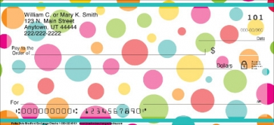 Click on Polka Dots  Personal Checks For More Details