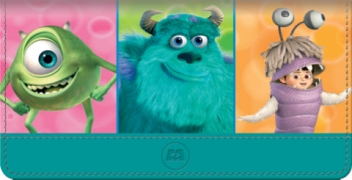 Click on Monsters Inc Checkbook Cover For More Details