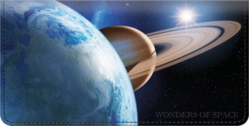 Click on Wonders of Space Checkbook Cover For More Details