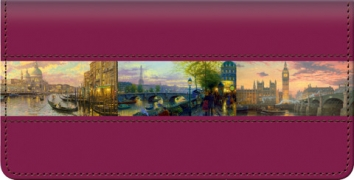Click on Thomas Kinkade's Romance of Europe Checkbook Cover For More Details