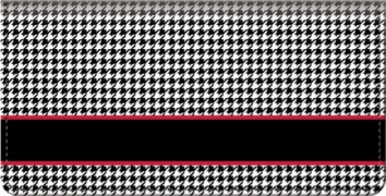 Click on Houndstooth Checkbook Cover For More Details