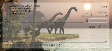 Click on Dinosaurs Personal Checks For More Details