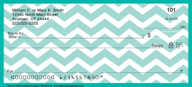 Click on Chevron Chic Personal Checks For More Details