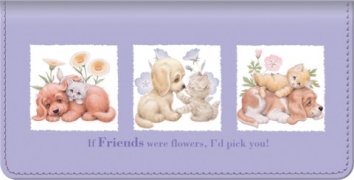 Click on Furry Friends Checkbook Cover For More Details