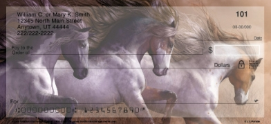 Click on Lorrie Prindle Horse  Personal Checks For More Details