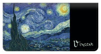 Click on Van Gogh Checkbook Cover For More Details