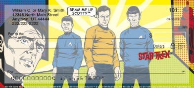 Click on Star Trek Comics Personal Checks For More Details