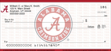 Click on University of Alabama Personal Checks For More Details