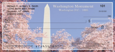 Click on Our Nation's Capital Personal Checks For More Details