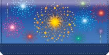 Click on Fireworks Checkbook Cover For More Details