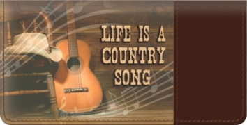 Click on Country Music Checkbook Cover For More Details