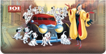Click on 101 Dalmatians Checkbook Cover For More Details