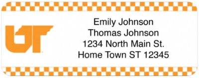 Click on University of Tennessee Return Address Label For More Details