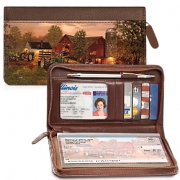 Click on Farm and Tractors Zippered Wallet Checkbook Cover For More Details
