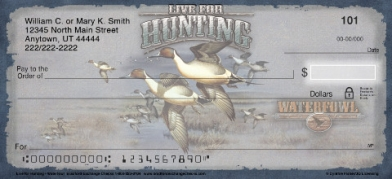 Click on Live for Hunting - Waterfowl Personal Checks For More Details
