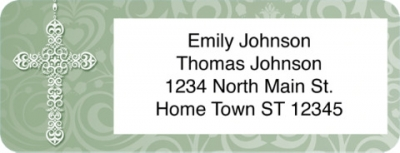 Click on The Rosary Prayer Return Address Label For More Details