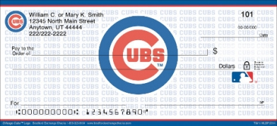 Click on Chicago Cubs(TM) MLB(R) Logo Personal Checks For More Details
