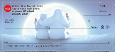 Click on Coca-Cola(R) Polar Bears Personal Checks For More Details
