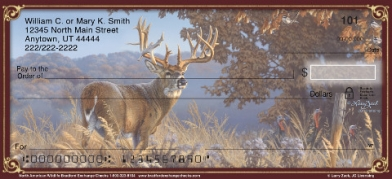 Click on North American Wildlife Personal Checks For More Details