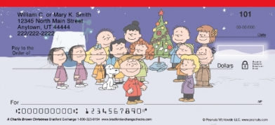 Click on A Charlie Brown Christmas Personal Checks For More Details