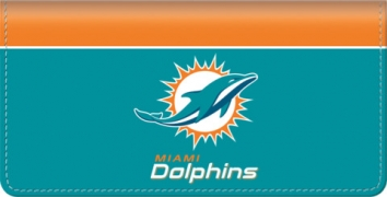 Click on Miami Dolphins NFL Checkbook Cover For More Details