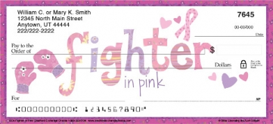 Click on BCA Fight Like a Girl Personal Checks For More Details