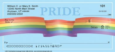 Click on LGBT Pride Personal Checks For More Details