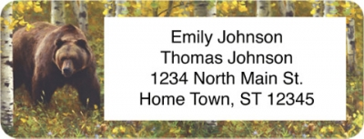 Click on Bears Return Address Label For More Details